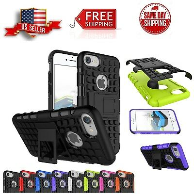 Cover For Apple iPhone 8 Plus Case PlusHybrid ShockProof Kickstand Dual Layer