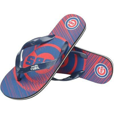 Chicago Cubs Flip Flops Sandals Unisex Water Shoes Mens Womens MLB Baseball