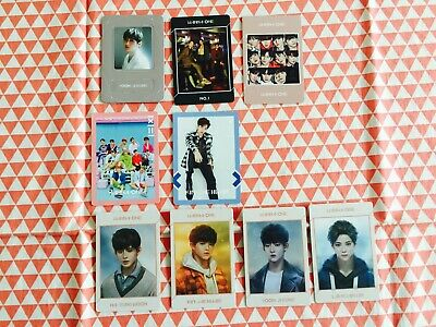 Wanna one  Special Album 1st album photocard magnet