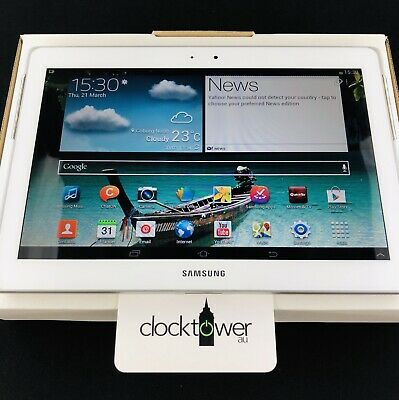 "Samsung Galaxy Tab 2 GT-P5110 16GB 10.1"" White 3MP 1GB RAM Tablet WiFi Excellent"