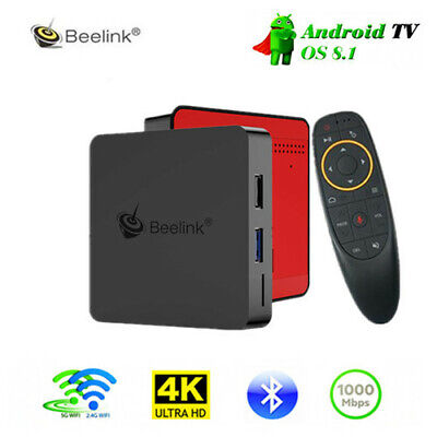Beelink GT1 MINI 4K TV Box with Voice Remote Android 8.1 Bluetooth4.0 H.265