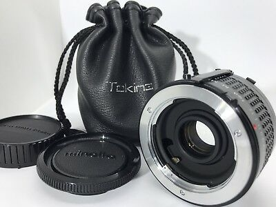 【Mint】 Tokina RMC Doubler for M/MD w/ soft cace From JAPAN #157