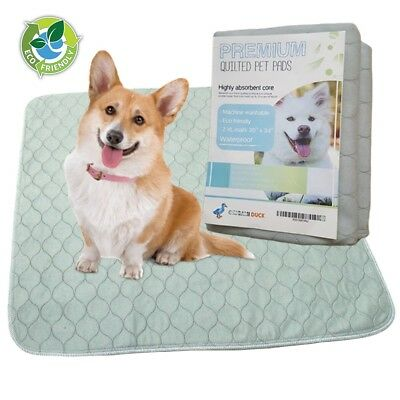 Reusable Eco-Friendly Premium Washable Dog Puppy Pee Pads 2-pack X Large 30x34in