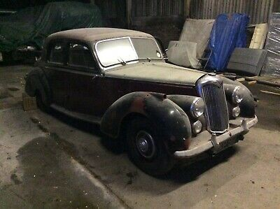 Riley 1.5 , RM 1954 , barn find,Restoration,Project with,14000 mies on the clock