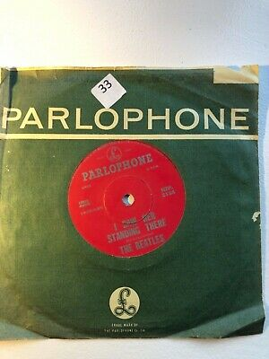 The Beatles-Love Me Do -Rare New Zealand Red Parlophone Nzp 3154 Ex