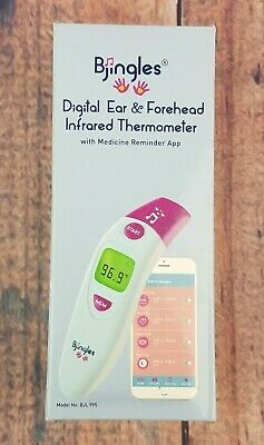 Bjingles Thermometers Digital Ear Forehead Infrared Medical Ideal To Check