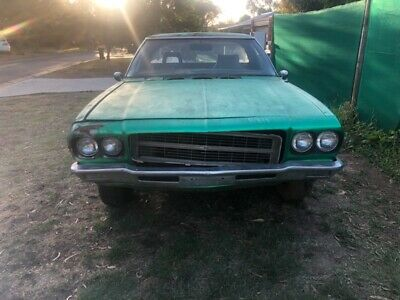 Hq Holden Ute Twin Premier Front 1972