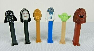 Star Wars Pez Collection 1997-2004 - Vintage - RARE - Yoda - R2D2 - Darth Vader!