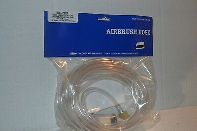 Badger 50-2021 Clear Airbrush Hose w/ Moisture Trap