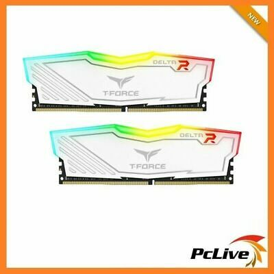 Team DELTA RGB 16GB DDR4 3000 Mhz Gaming Memory 2x 8GB RAM Desktop 24000 White