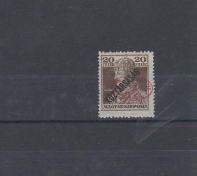 HUNGARY 1919 MLH SC.2N42b OCCUPATION DEBRECEN I ROMANIAN GUARANTEED GENUINE OVPT