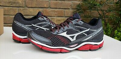 NEW Mens Mizuno Wave Enigma 5 Running Shoes Black red size 11