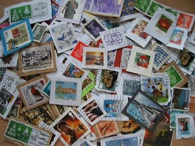 Ex Charity Kiloware   500+ Grams  Assorted Used Gb And World Mixed Stamps..