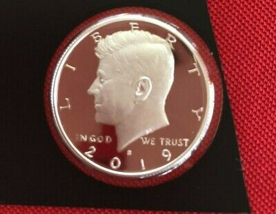 2019 S Kennedy SILVER Half Dollar PROOF DEEP CAMEO in mint plastic IN STOCK