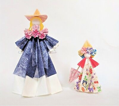 Origami Paper Dolls ~ Adult and Child
