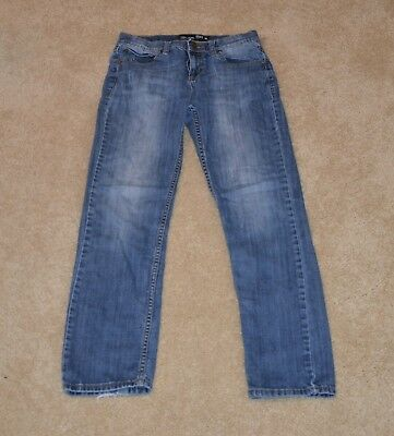 Boys Rsq Tokyo Super Skinny Light Wash Jeans, Factory Distressed - Size 16 - Euc