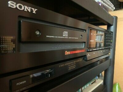 SONY CDP-337esD cd player TECHNICALLY NEW!! RARELY USED!! BU-1E KSS-190A AS NEW!
