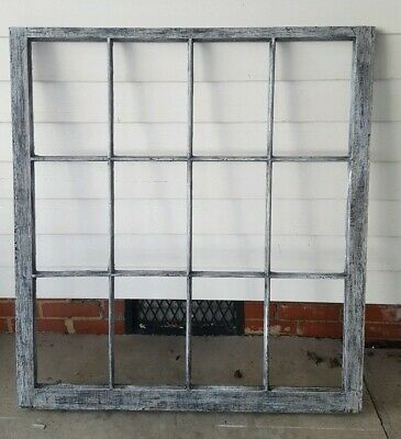 Vintage Sash Antique Wood Window Frame Pinterest Rustic Driftwood Style 40X40