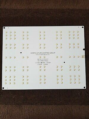 Horticulture Lighting Group QB132  V2 12sx11p top LM301 leds Quantum board 3000k