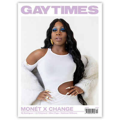 GAY TIMES #493 2019 - MONET X CHANGE (3 alternative covers available)