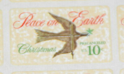 1974 sheet, Peace on Earth, 1st US Self Adhesive Stamp Sc# 1552