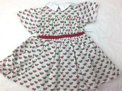 American Girl Doll Addy's Summer~Flower Dress~1 PC~Historical~Retired AG tag