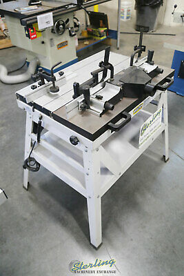 """30"""" x 12"""", Used (Demo Machinery) Baileigh Manual Sliding Router Table, Mdl. RTS-"""