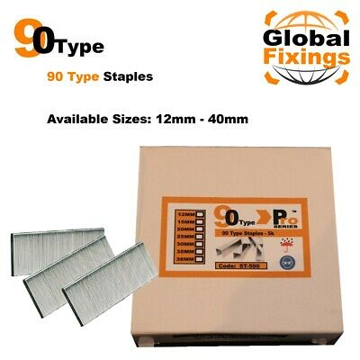 90 Type 1000 x 12mm Staples