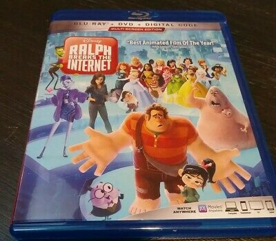Ralph Breaks the Internet DVD ART & Case ONLY No Blu-Ray, Digital Or Slip Cover