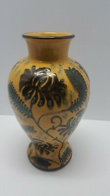 Desa Swiss Folk Art / Arts & Crafts Art Pottery Lamp Base Switzerland