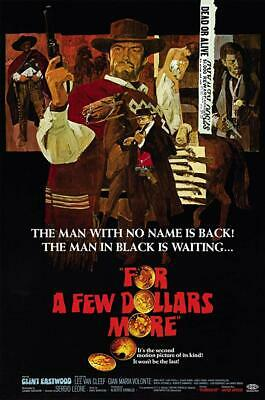 16mm Feature- For a Few Dollars More- 1965- Clint Eastwood-Lee Van Cleef
