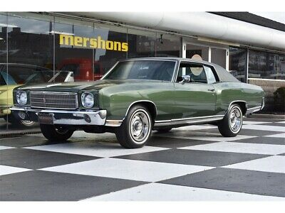 1970 Monte Carlo  1970 Chevrolet Monte Carlo 4 Speed Manual 2-Door Coupe