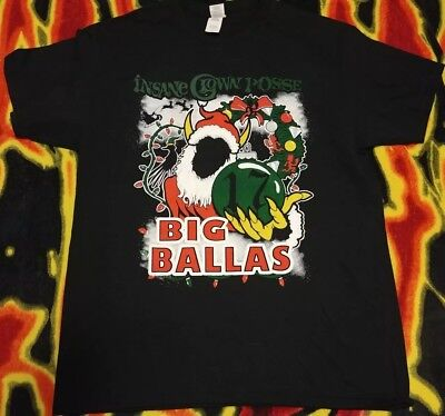 Insane Clown Posse ICP Big Ballas 2017 Event Shirt New Size Large