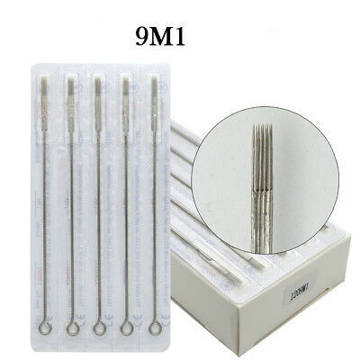 Premium Tattoo Needle Round Magnum Arc Needle 9M1 Shading Colors Stainless Steel