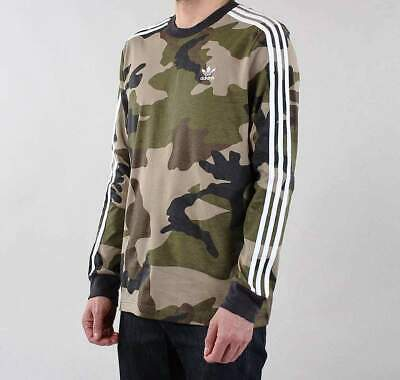 Adidas Originals Camo Long Sleeved Tshirt -Bnwt  M,L,Xl,Xxl  Last Few Rrp £35