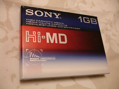 Sony 1GB HiMD Sealed Blank Minidisc