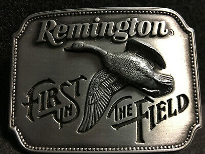 Canada Goose Remington First in the Field Belt Buckle 1980