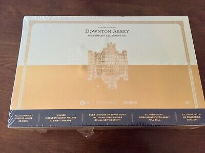 Downton Abbey: The Complete Limited Edition Collectors Set (DVD, 2016)