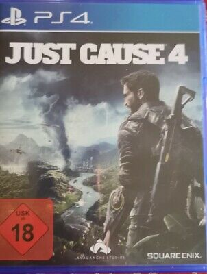 Just Cause 4 (Sony PlayStation 4, 2015, DVD-Box)