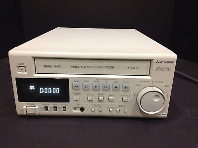 Mitsubishi Hsmd-3000U Svhs Vhs Pro Video Recorder Vcr Usb With A 90 Day Warranty