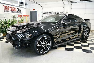 2016 Mustang NO RESERVE 2016 Ford Mustang Ecoboost Turbo Rebuildable Salvage Car Repairable Damaged