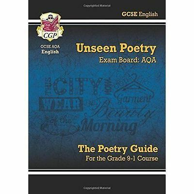 New GCSE English Literature AQA Unseen Poetry Study & Exam Practice - For the...
