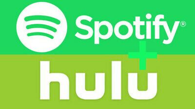 SPOTIFY + HULU Premium Account with Live Tv - 1 MONTH Warranty - Instant Deliver