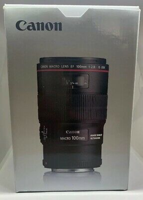 Canon EF 3554B002 100mm f/2.8 EF IS USM Macro Lens-Next Day Special Delivery