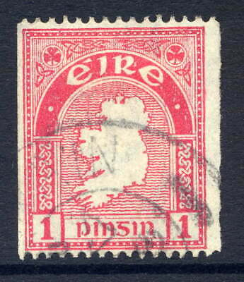 IRELAND 1940-68 COIL 1D PERF 14 x IMPERF VERY FINE CDS USED. GIBBONS 112b.