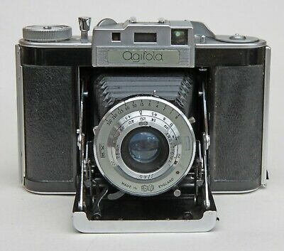 Agilux Agifold 120 Folding Roll Film Camera, Uncoupled Rangefinder, With Case