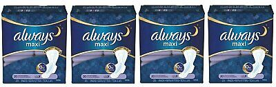 ALWAYS MAXI OVERNIGHT EXTRA HEAVY FLOW W/WINGS 20ct (4 PACK)