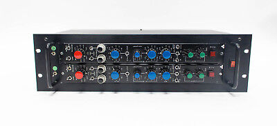 TRIAD Trident B Series Channel Amplifier Type 1150 Racked Pair - Vintage