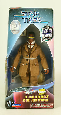 Star Trek Starfleet Command Lt Commander La Forge As Dr. Watson MIB Target only
