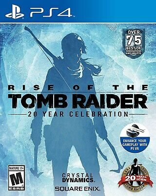 Playstation 4 Ps4 Game Rise Of The Tomb Raider 20 Year Celebration New Sealed